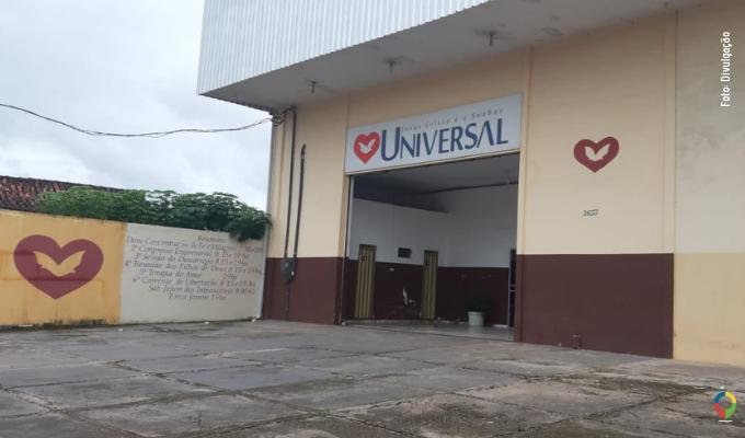 Jesus Cristo é o Senhor - Universal. Igreja Nova Olinda
